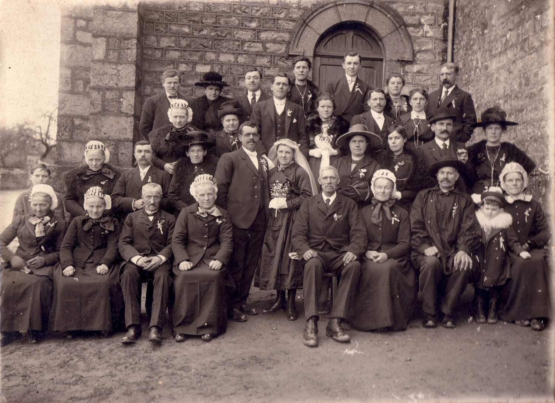 1910 ~mariage NOBIS Albert
