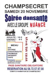 Read more about the article Soirée dansante